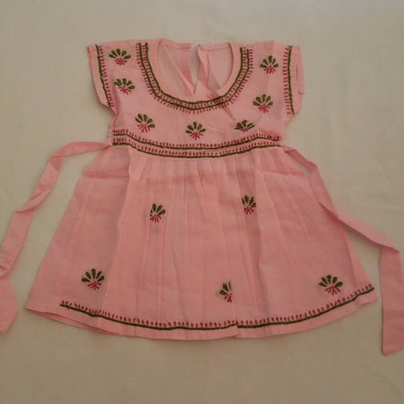 2654dd84267805 Dresses | Baby Girl Pink Frock 100 Cotton | Poshmark